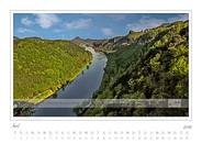 Kalender Traumlandschaft Elbsandsteingebirge 2016, Saechsische Schweiz, Frühling im Elbtal bei Schmilka, April