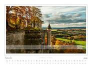 Kalender Traumlandschaft Elbsandsteingebirge 2016, Saechsische Schweiz, Festung Königstein, September