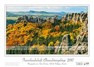 Traumlandschaft Elbsandstein 2017 Saechsische-Schweiz Herbst in den Schrammsteinen